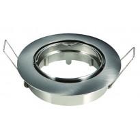 Aro cromado circular para dicroico LED GU10 - MR16 - Iluminación LED