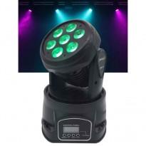 RGBW 4-em-1 Mobile Head Wash IOWA 70 - Led De Iluminação De Entretenimento