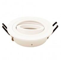 Aro circular Orientable para dicroica LED GU10 MR16 - Aluminio Area-led