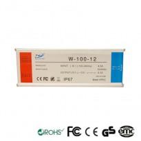 Fuente Alimentación 12V 100W IP67 TECMO Area-led
