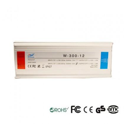 Fuente Alimentación 12V 300W IP67 TECMO Area-led