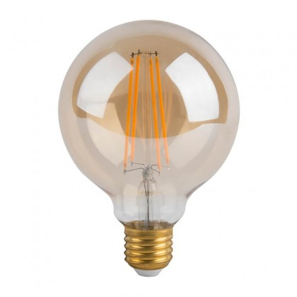 Bombilla LED Filamento Vintage 6W E27 G80 Gold Area-led