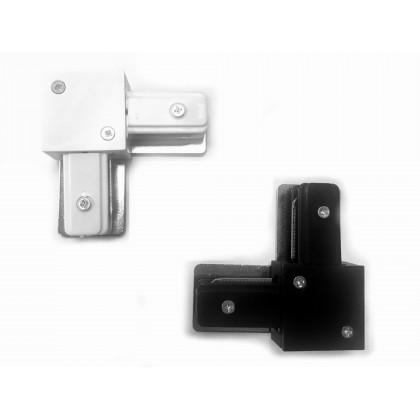 Conector tipo L para Carril Monofásico REFORZADO Area-led