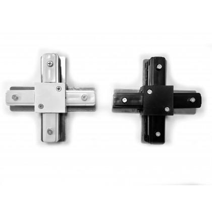 Conector tipo X para Carril Monofásico REFORZADO Area-led