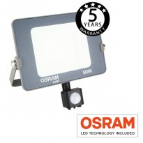 Foco Proyector LED 50W con Sensor Movimiento PIR AVANCE OSRAM Area-led