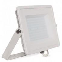 Foco projector LED SAMSUNG exterior branco 100W IP65 ELEGANCE 3 anos de garantia - Jardim E Projetores De Led Ao Ar Livre