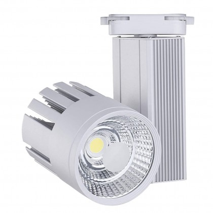 Foco LED OLIVIA para Carril Monofásico 30W Area-led
