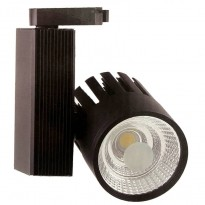 Foco LED 30W OLIVIA Black para Carril Monofásico Area-led