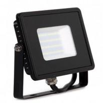 Foco projector exterior preto 30W IP65 ELEGANCE 3 anos de garantia