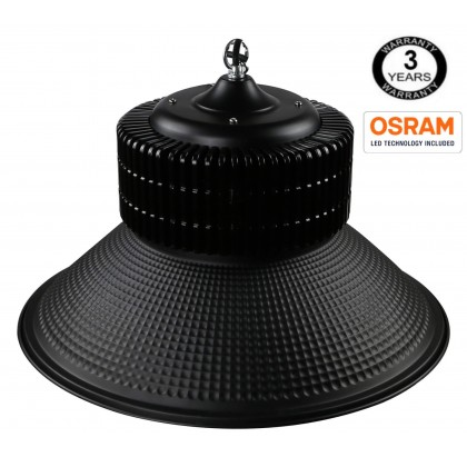 Campana industrial LED PRO Black 150W SMD 3030 -3D Area-led