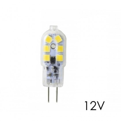 Bulbo G4 LED 2,5W branco natural 4000K 12V DC Area-led