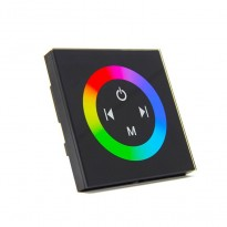 Controlador Empotrable Táctil para Tiras de LEDs RGB 12-24 V. DC Area-led - Tiras Led Y Neón Led