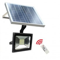 Foco Projector Exterior SOLAR LED 20W Area-led