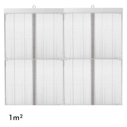 Rótulo electrónico LED Interior Serie MAGIC GLASS 1m2 (4 Modulos +Control) Area-led