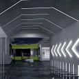 Perfil de Aluminio para tira LED Modelo Lineal INFINITY PRO- Area-led
