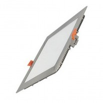 Placa LED Slim Cuadrada 20W Acero Inox Area-led - Iluminación LED