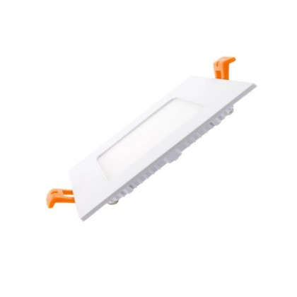 Placa Slim LED Cuadrada 8W Area-led