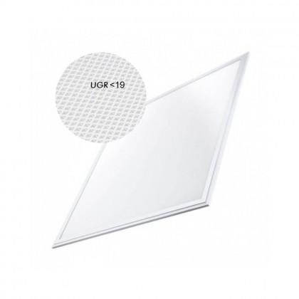 Panel LED 60x60 cm 40W UGR19 Marco Blanco Area-led