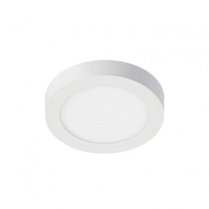 Plafón LED circular superficie 8W 120º- IP20-Interior Area-led