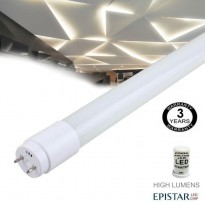 Tubo MAX LED 18W Cristal 120cm 300º - ALTA LUMINOSIDAD Area-led - Tubos Y Pantallas Led
