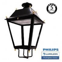 Farola Villa Acero LED 100W LUMILEDS 150Lm/W Area-led - Iluminación LED