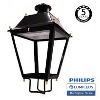 Farol Villa Acero LED 50W LUMILEDS 150Lm/W Area-led - Iluminación LED