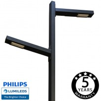 Farola LED 100W Helga - 6 Metros Area-led - Iluminación LED