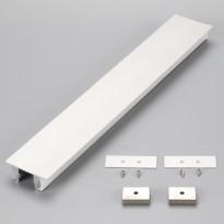 Perfil de Aluminio Moldura DOBLE LUZ- 2 Metros Area-led - Fitas Led E Neon Led