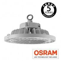 Campana industrial LED 200W UFO UGR19 OSRAM Chip Area-led - Iluminação Led Industrial