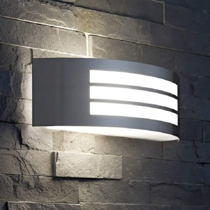 Aplique para LED E27 METZ Exterior Area-led