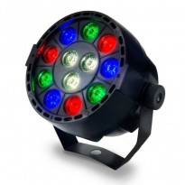 Foco Mini PAR LED 36W MONTANA RGB + Blanco - DMX Area-led -