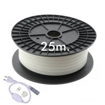 Neón LED CIRCULAR Flexible 220V Bobina 25m 16mm - 9,6W/m Area-led - Tiras Led Y Neón Led
