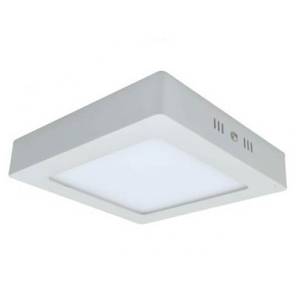 Plafón LED Superficie cuadrado 15W 120º Area-led