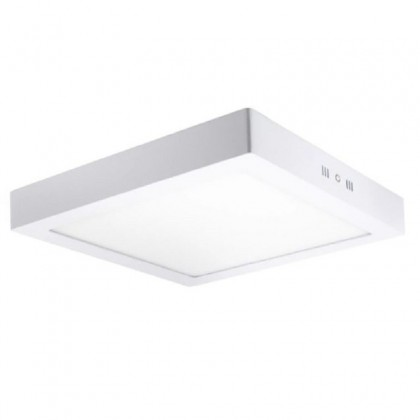 Plafón LED Superficie cuadrado blanco 20W 120º -IP20 - interior Area-led