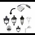 Farola Vera Aluminio LED 40W LUMILEDS Area-led