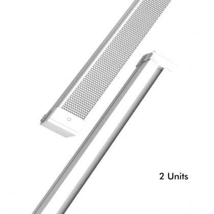 Barra LED 28W Lineal KIEL DYNAMICS para Techos tecnicos - Pack 2 unidades Area-led