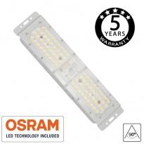 Módulo LED 50W DOB MAGNUM OSRAM Chip SMD3030-3D 180Lm/W 90º Area-led - Iluminación Pública