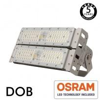 Proyector LED 100W DOB MAGNUM OSRAM Chip SMD3030-3D 180Lm/W 90º Area-led -