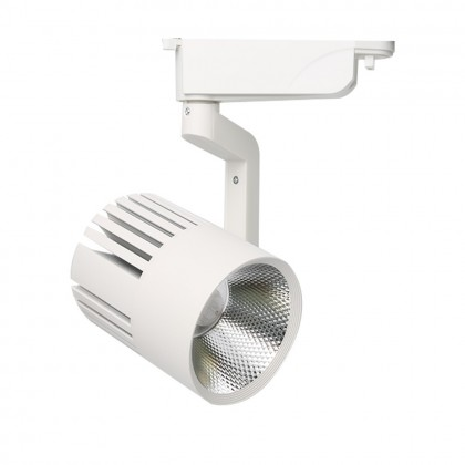 Foco LED 40W PISA Blanco para Carril Monofásico 35º Area-led