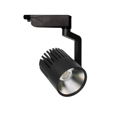 Foco LED 40W PISA Negro para Carril Monofásico 35º Area-led