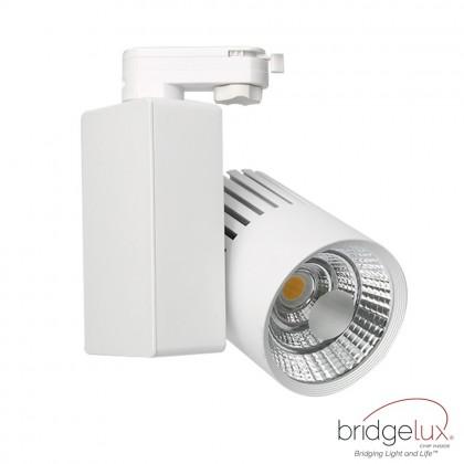 Foco LED 40W GRAZ Blanco BRIDGELUX Chip para Carril Monofásico 100º CRI +90 Area-led