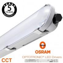 Regleta CCT Estanca LED integrado 25W-40W OSRAM DRIVER 120cm Area-led