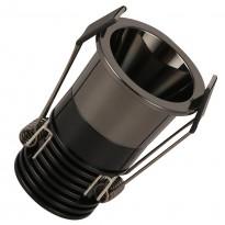 Empotrable LED 5W Negro Cromo Bridgelux Chip - 40° - UGR11 Area-led - Downlights Led