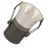 Empotrable LED 5W Cromo Perla Bridgelux Chip - 40° - UGR11 Area-led - Downlights Led