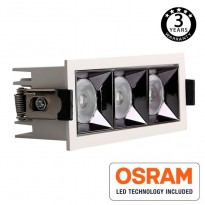 Empotrable LED 15W OSRAM Chip PALACE 24º UGR17 140lm/W Area-led - Downlights Led