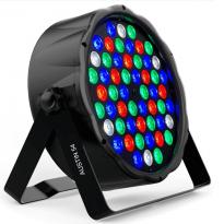 Foco LED PAR 54W AUSTIN RGBW DMX Area-led - Led De Iluminação De Entretenimento