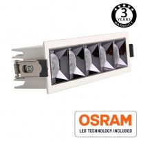 Empotrable LED 25W OSRAM Chip PALACE 24º UGR17 140lm/W Area-led - Downlights Led