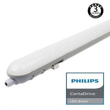 Regleta Estanca LED integrado 60W PHILIPS CERTA DRIVER 150cm Area-led