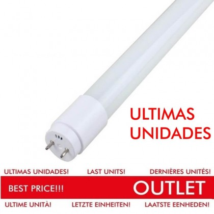 Tubo LED 18W Cristal 120cm 300º OUT Area-led