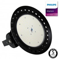Campânula LED 150W XITANIUM Driver Philips UFO IP65 Area-led - Iluminação Led Industrial